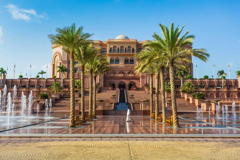 Voyage de noces à Abu Dhabi