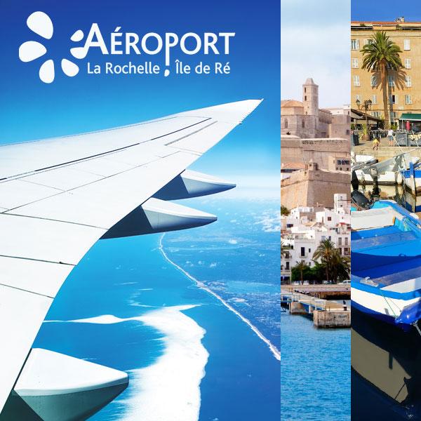 Circuits voyage départ aéroport la Rochelle Île de Ré