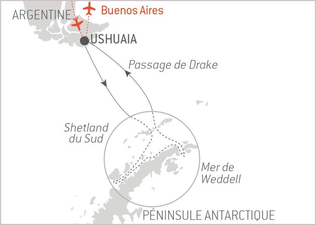 Croisière en Antartique