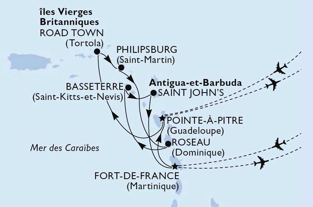 Croisière dans les Caraibes