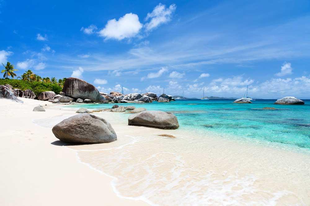 Croisière dans les Caraibes : paysage