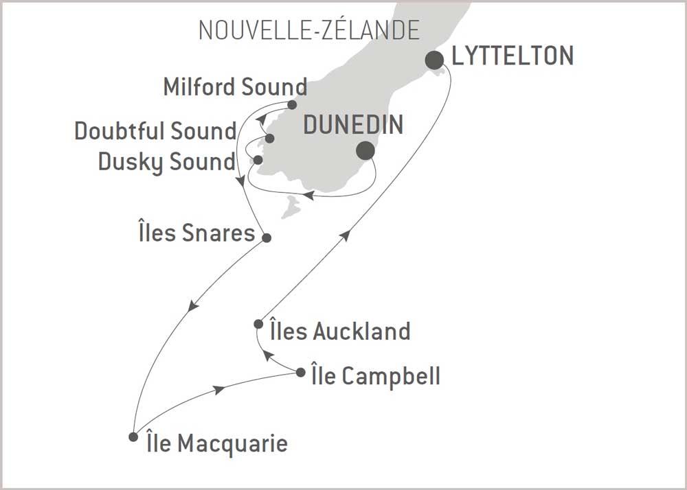 Croisière Iles Subantartiques